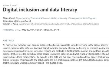 Special Issue - Data Literacy